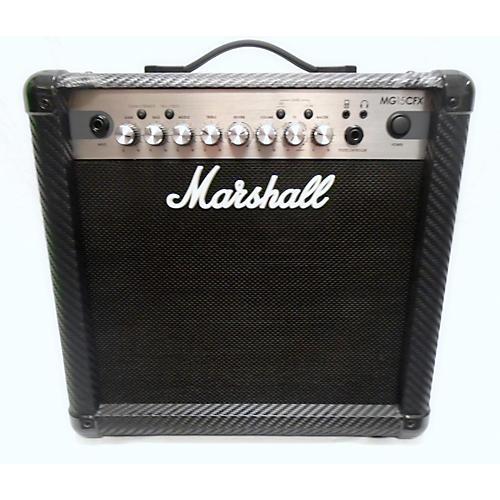 Marshall Mg15cfx 15w 1x8 Guitar Combo Amp