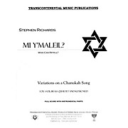 Transcontinental Music Mi Y'maleil? (Who Can Retell?) Full Score arranged by Stephen Richards