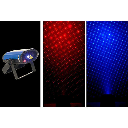 Chauvet MiN Laser RBX Mini Red & Blue Laser Lighting Effect