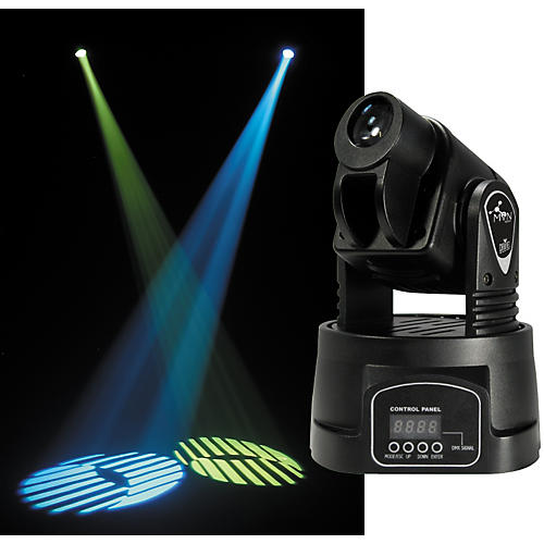 Chauvet MiN Spot DMX LED Moving Yoke Fixture