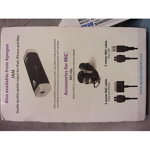Apogee Mic USB Microphone-thumbnail