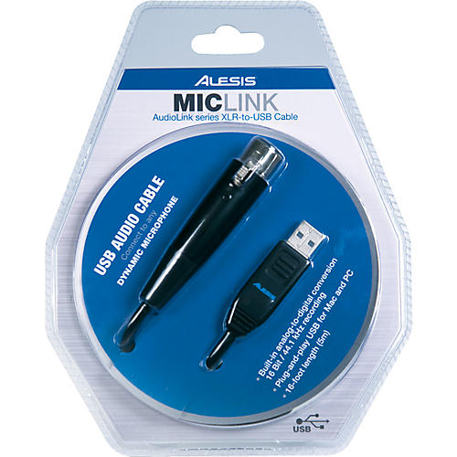 Alesis MicLink USB Audio Interface Cable | Guitar Center