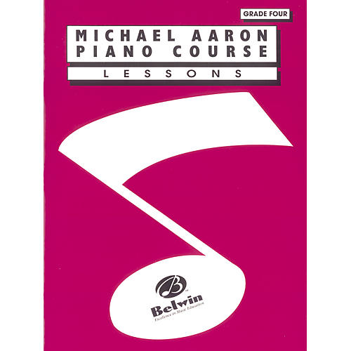 Alfred Michael Aaron Piano Course Lessons Grade 4-thumbnail