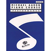 Alfred Michael Aaron Piano Course Performance Grade 1