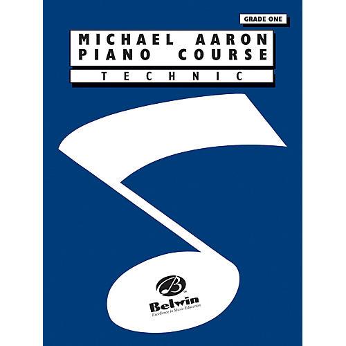 Alfred Michael Aaron Piano Course Technic Grade 1-thumbnail