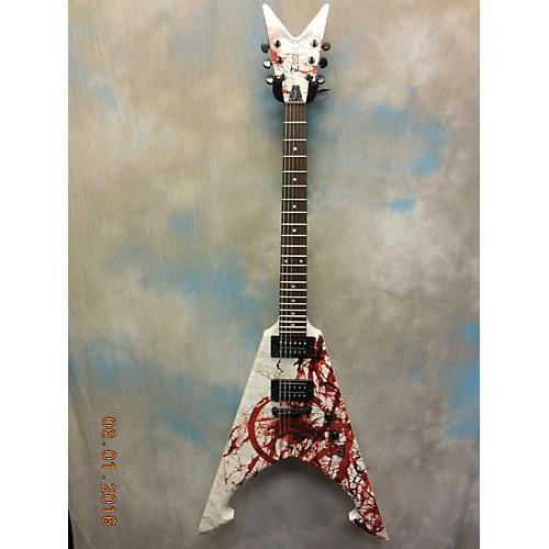 Dean Michael Amott Signature Tyrant X Splatter Electric Guitar-thumbnail