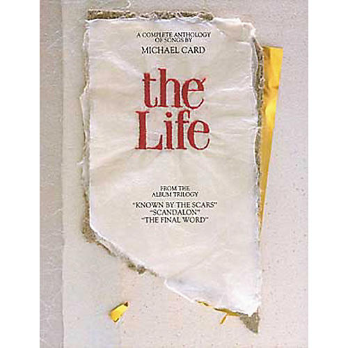 Hal Leonard Michael Card - The Life Piano, Vocal, Guitar Songbook-thumbnail