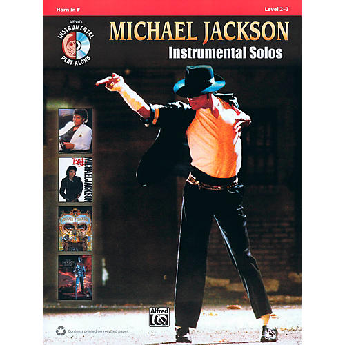 Hal Leonard Michael Jackson - Instrumental Solos Play-Along for Horn Book/CD