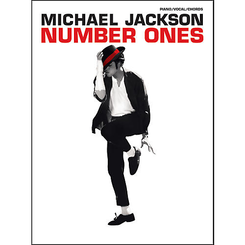 Alfred Michael Jackson - Number Ones for Piano, Vocal, and Guitar Book-thumbnail