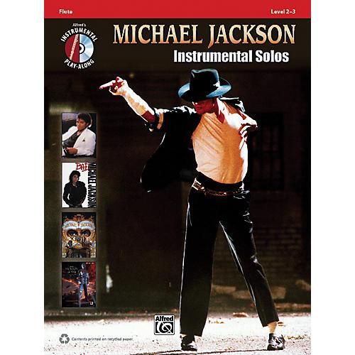Alfred Michael Jackson Instrumental Solos Flute Book & CD