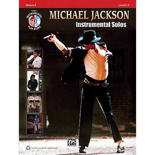 Alfred Michael Jackson Instrumental Solos Horn in F Book & CD-thumbnail