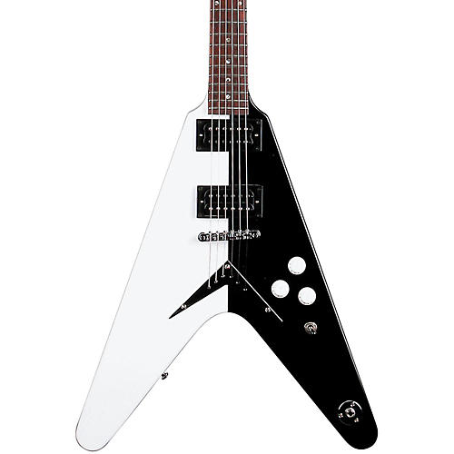 Dean Michael Schenker Standard Electric Guitar Black and White