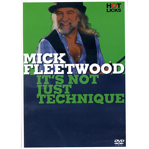 Music Sales Mick Fleetwood It's Not Just Technique Drum DVD