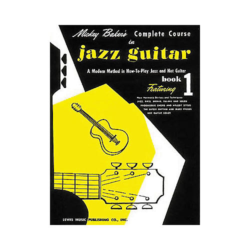 Ashley Mark Mickey Baker's Complete Course in Jazz Guitar 1 Book-thumbnail