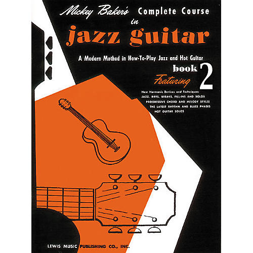 Ashley Mark Mickey Baker's Complete Course in Jazz Guitar 2 Book-thumbnail