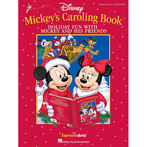 Hal Leonard Mickey's Caroling Book (Holiday Fun With Mickey Mouse and His Friends) Singer 10 Pak by Tom Anderson