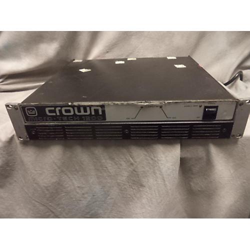 Crown Micro 1200 Power Amp