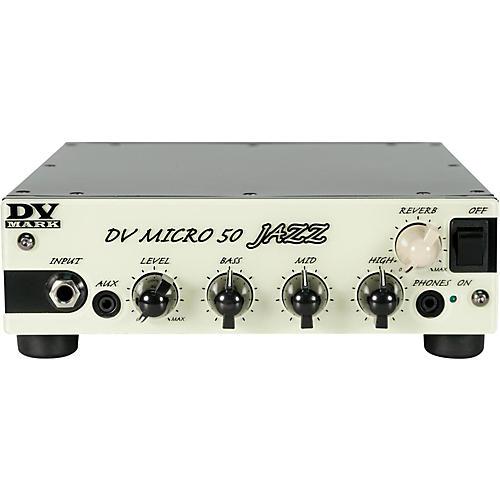 DV Mark Micro 50 Jazz 50W Guitar Amplifier Head-thumbnail