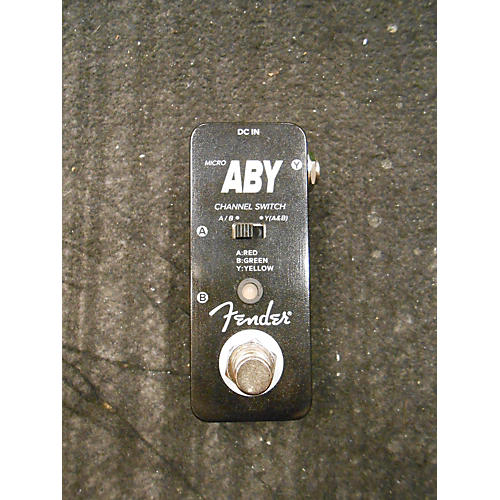 Fender Micro ABY Footswitch Pedal