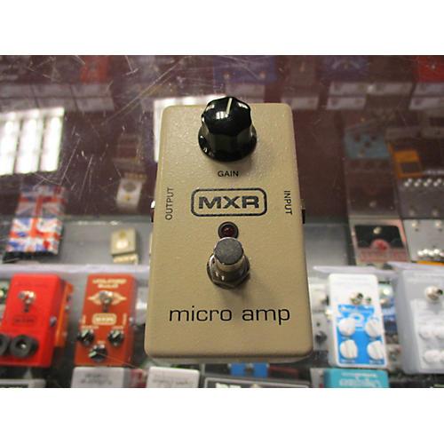 MXR Micro Amp Pedal