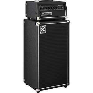 Ampeg Micro-CL 100 Watt 2x10 Mini Bass Stack Black