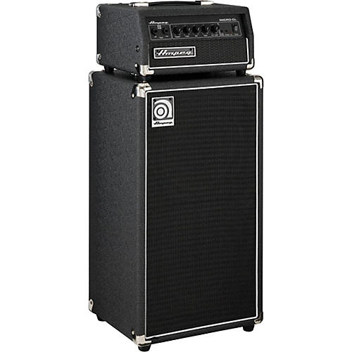 Ampeg Micro-CL 100W 2x10 Mini Bass Stack Black-thumbnail