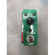 Fender Micro Compressor Effect Pedal
