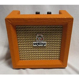 Pre-owned Orange Amplifiers Micro Crush Battery Powered Amp by Orange Amplifiers