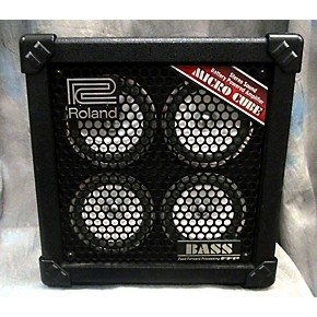 used roland micro cube bass rx mini bass amp guitar center. Black Bedroom Furniture Sets. Home Design Ideas