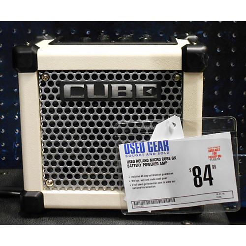 Roland Micro Cube Gx Battery Powered Amp-thumbnail