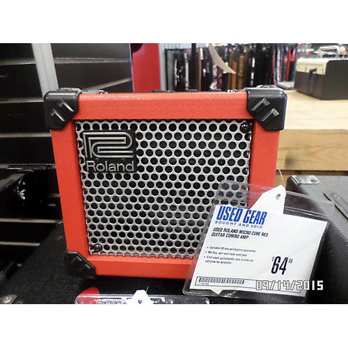 Roland Micro Cube Red Guitar Combo Amp