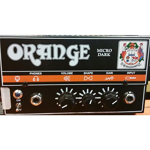 Orange Amplifiers Micro Dark 20W Tube Guitar Amp Head-thumbnail