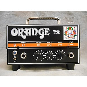 Pre-owned Orange Amplifiers Micro Dark Battery Powered Amp by