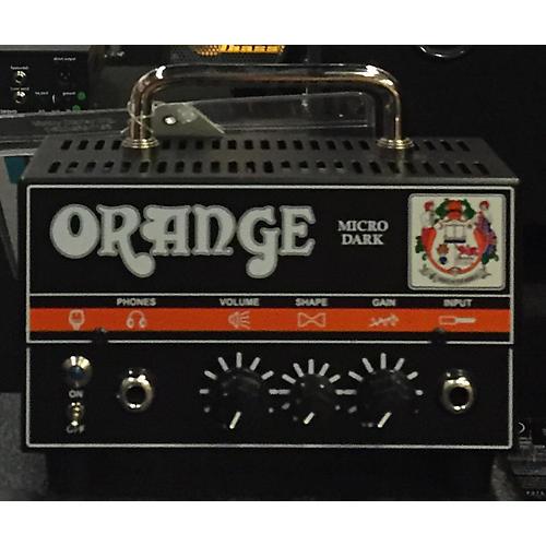 Orange Amplifiers Micro Dark Tube Bass Amp Head-thumbnail