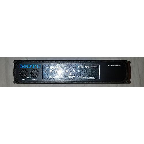 MOTU Micro Lite MIDI Interface-thumbnail