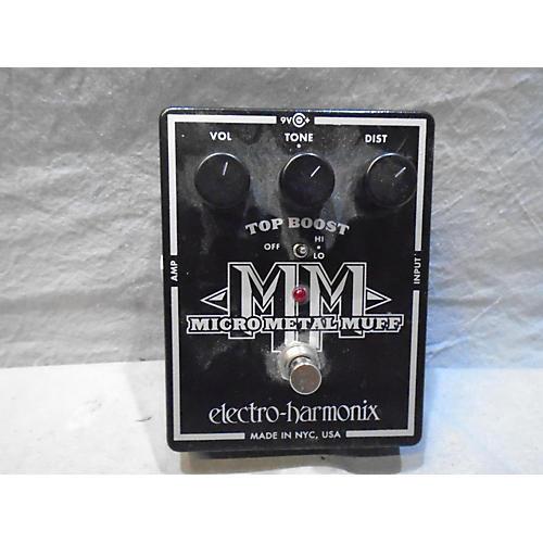 Electro-Harmonix Micro Metal Muff Distortion Effect Pedal-thumbnail
