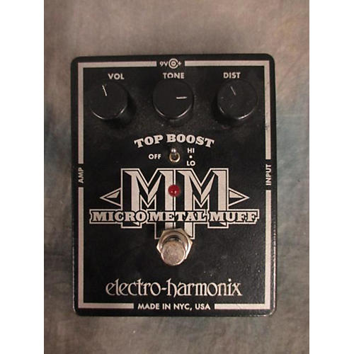 Electro-Harmonix Micro Metal Muff Distortion Effect Pedal-thumbnail