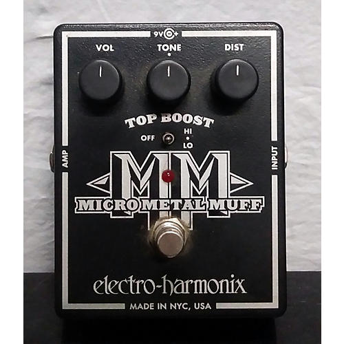 Electro-Harmonix Micro Metal Muff Distortion Effect Pedal