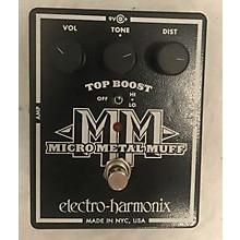Electro-Harmonix Micro Metal Muff Distortion Effect Pedal