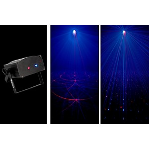 American DJ Micro Royal Galaxian Sound-Active Laser Shower Effect by American DJ