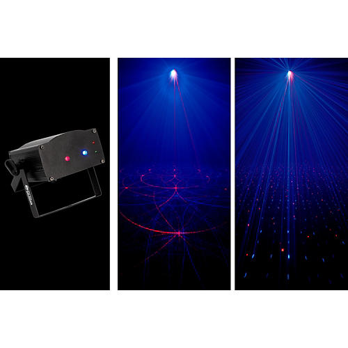 American DJ Micro Royal Galaxian Sound-Active Laser Shower Effect-thumbnail