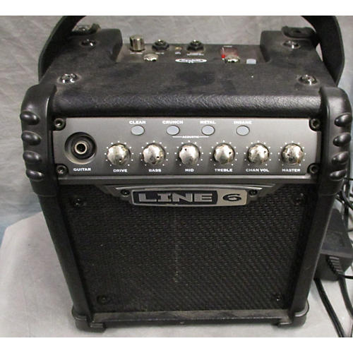 Line 6 Micro Spider Portable Battery Power Amp Guitar Combo Amp-thumbnail