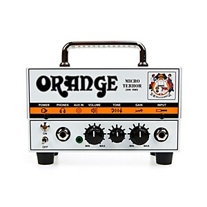 Orange Amplifiers Micro Terror MT20 20 Watt Hybrid Guitar Amp Head