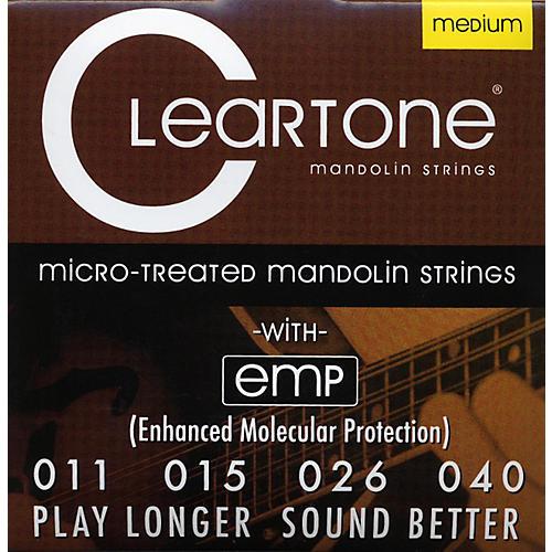 Cleartone Micro-Treated Medium Mandolin Guitar Strings