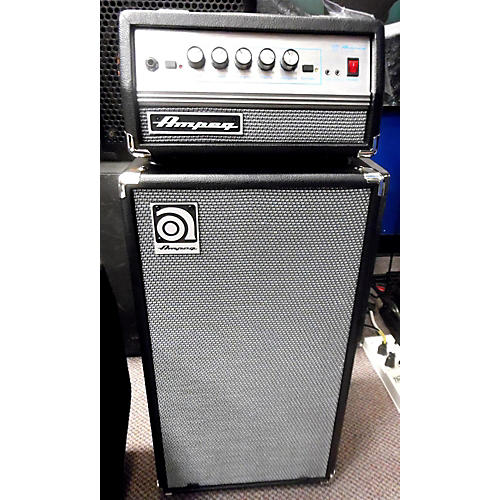 Ampeg Micro-VR 200W HALF STACK W/ AV210V CAB Bass Stack-thumbnail