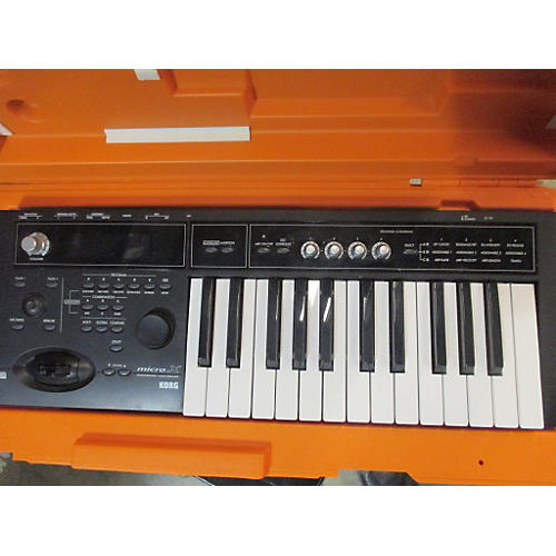 used korg micro x synthesizer guitar center. Black Bedroom Furniture Sets. Home Design Ideas
