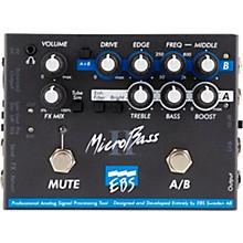 EBS MicroBass II Bass Preamp Pedal