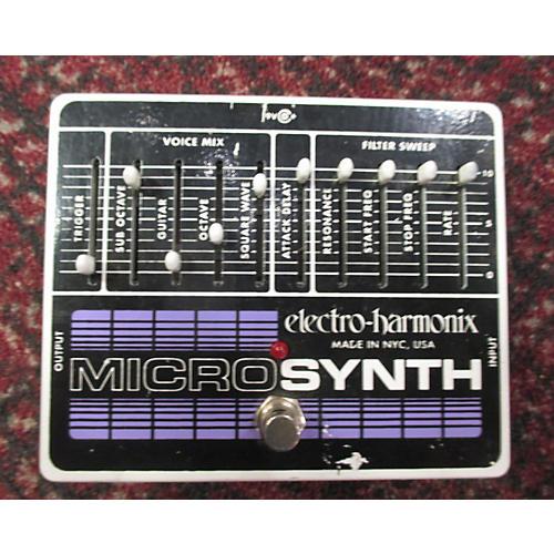 Electro-Harmonix MicroSynth XO Effect Pedal-thumbnail
