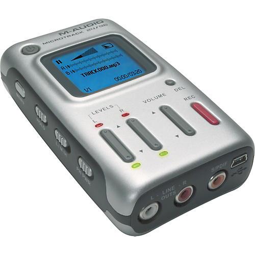 M-Audio MicroTrack 24/96 2-Channel Mobile Digital Recorder