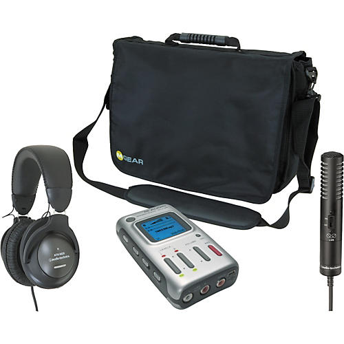 M-Audio MicroTrack Recording Package